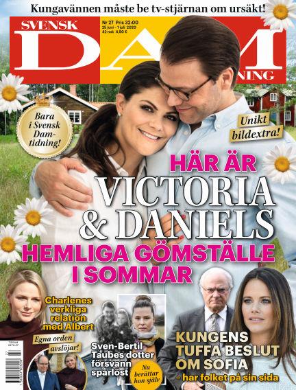 Svensk Damtidning June 25, 2020 00:00