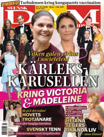 Svensk Damtidning January 28, 2021 00:00