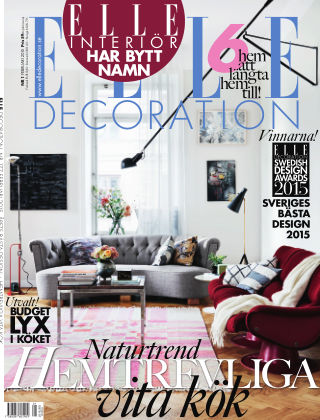 ELLE Decoration 15-01