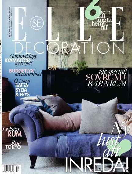 ELLE Decoration September 04, 2015 00:00