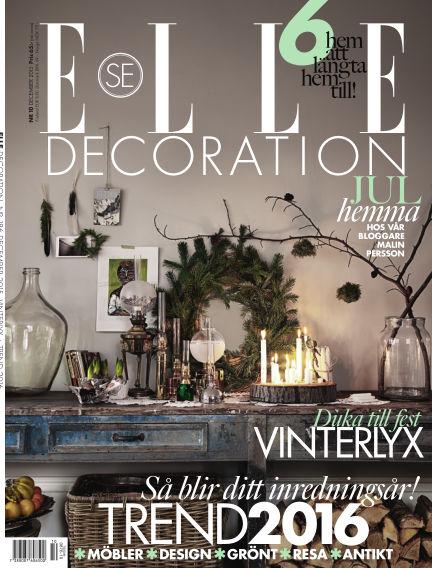 ELLE Decoration December 01, 2015 00:00