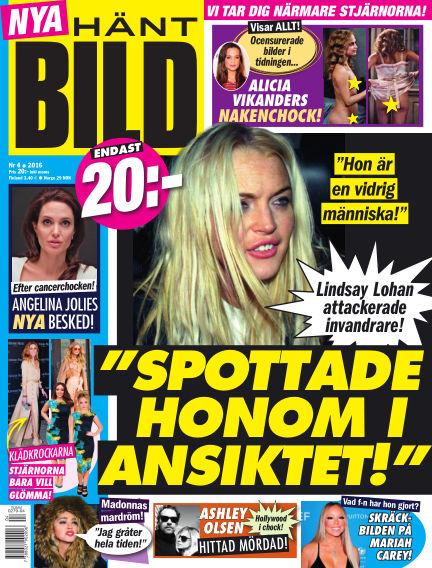 Hänt Bild (Inga nya utgåvor) January 28, 2016 00:00