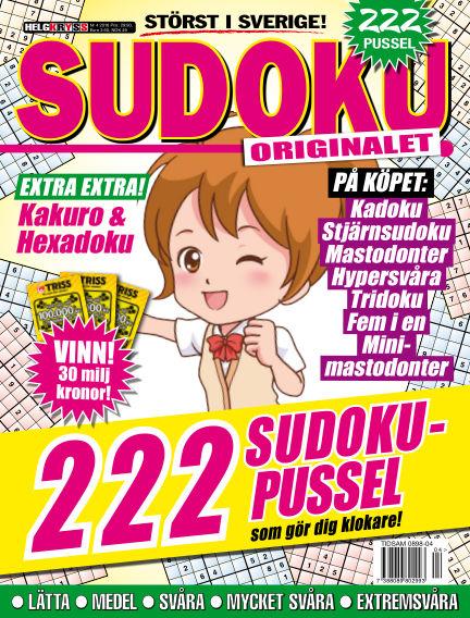 Sudoku (Inga nya utgåvor) April 19, 2016 00:00