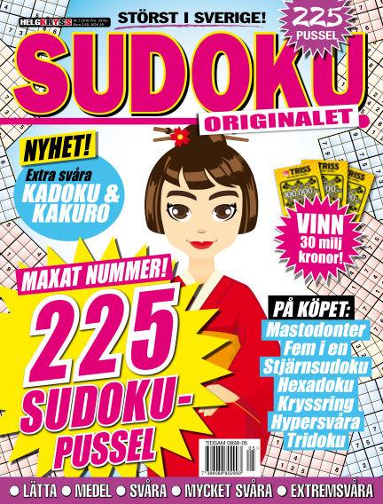 Sudoku (Inga nya utgåvor) May 24, 2016 00:00
