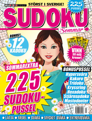 Sudoku (Inga nya utgåvor) 2016-07-19