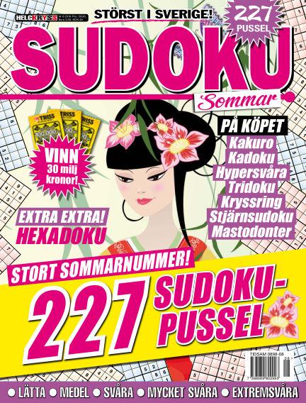 Sudoku (Inga nya utgåvor) August 16, 2016 00:00