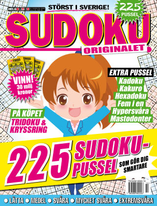 Sudoku (Inga nya utgåvor) 2016-10-18