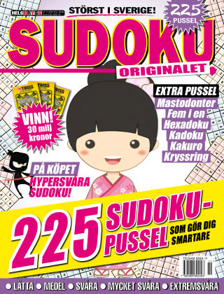 Sudoku (Inga nya utgåvor) 2016-11-24