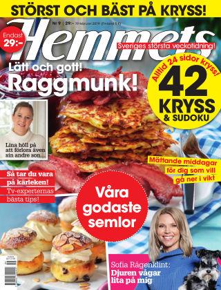 Hemmets Veckotidning 19-09