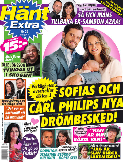 Hänt Extra May 24, 2016 00:00