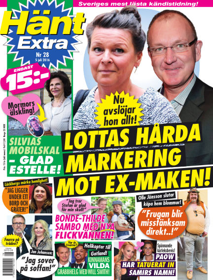 Hänt Extra July 05, 2016 00:00