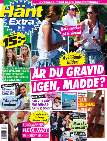 Hänt Extra July 19, 2016 00:00
