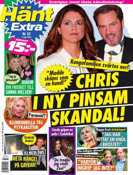 Hänt Extra August 02, 2016 00:00