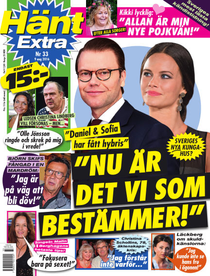 Hänt Extra August 09, 2016 00:00