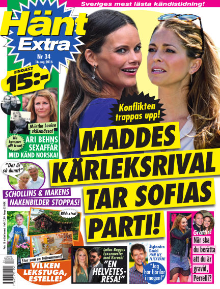 Hänt Extra August 16, 2016 00:00