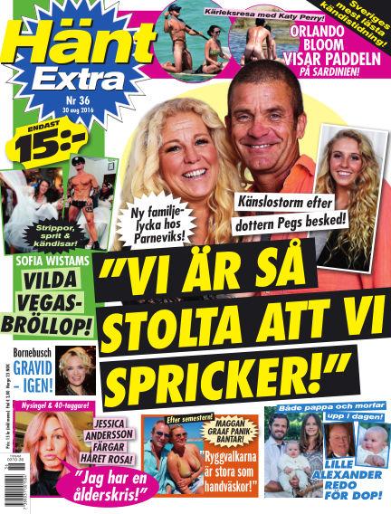 Hänt Extra August 30, 2016 00:00