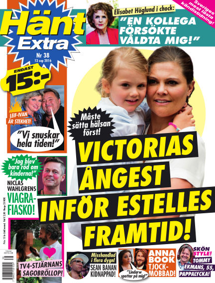 Hänt Extra September 13, 2016 00:00