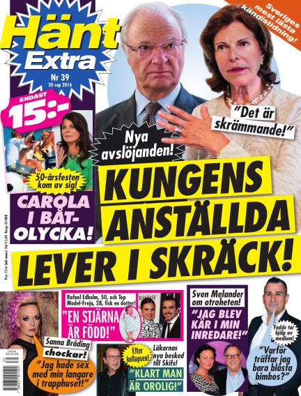 Hänt Extra September 20, 2016 00:00