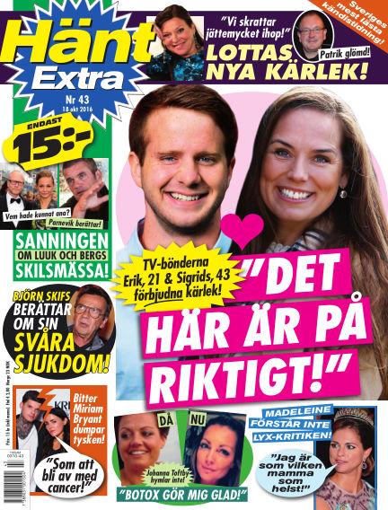 Hänt Extra October 18, 2016 00:00