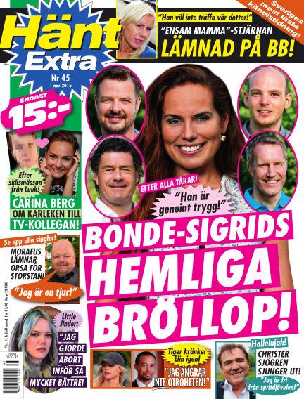 Hänt Extra November 01, 2016 00:00