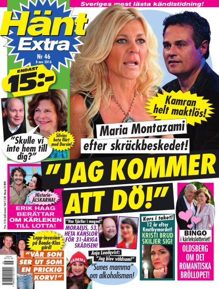 Hänt Extra November 08, 2016 00:00