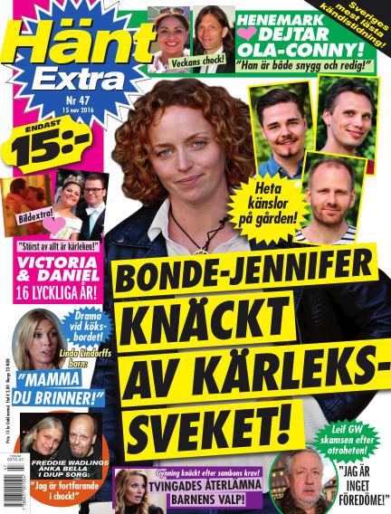 Hänt Extra November 15, 2016 00:00