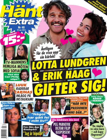 Hänt Extra November 22, 2016 00:00