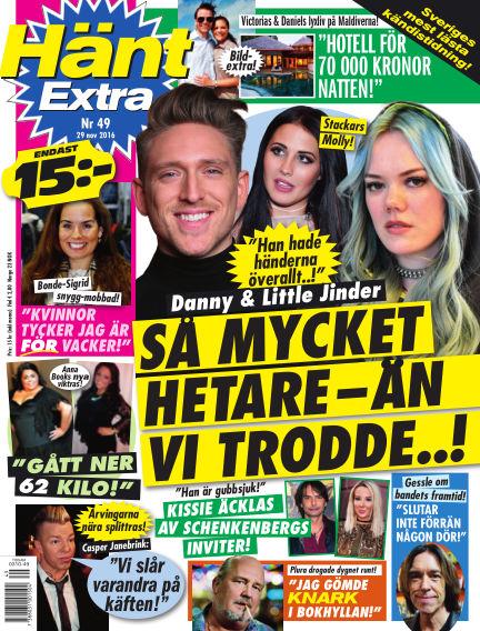 Hänt Extra November 29, 2016 00:00