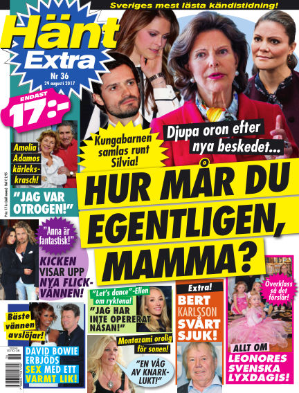 Hänt Extra August 29, 2017 00:00