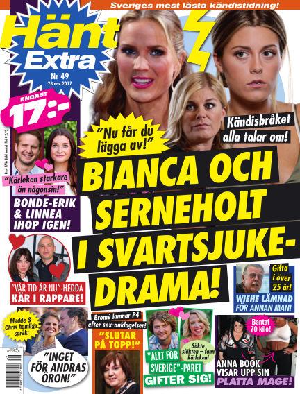 Hänt Extra November 28, 2017 00:00