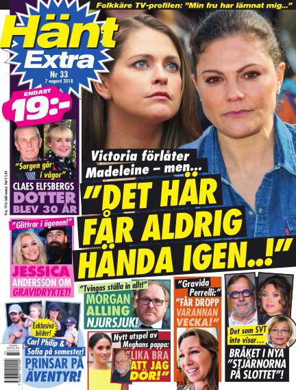 Hänt Extra August 07, 2018 00:00