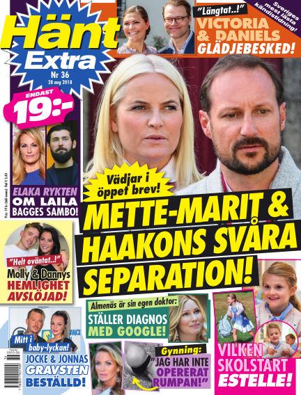 Hänt Extra August 28, 2018 00:00