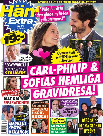 Hänt Extra October 16, 2018 00:00
