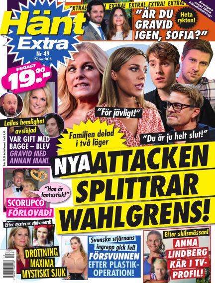 Hänt Extra November 27, 2018 00:00