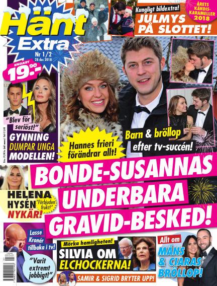 Hänt Extra December 28, 2018 00:00