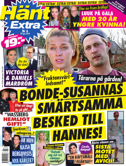 Hänt Extra January 29, 2019 00:00