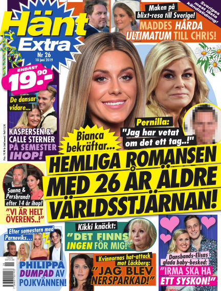 Hänt Extra June 18, 2019 00:00