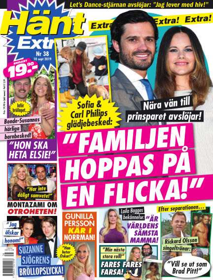 Hänt Extra September 10, 2019 00:00