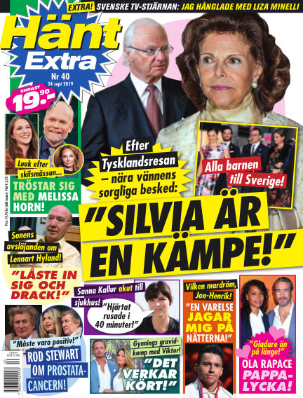 Hänt Extra September 24, 2019 00:00