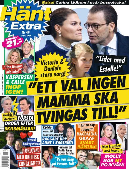 Hänt Extra November 26, 2019 00:00