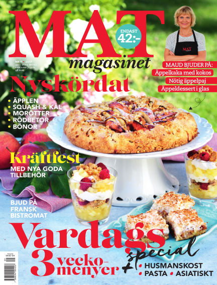 Matmagasinet August 15, 2017 00:00