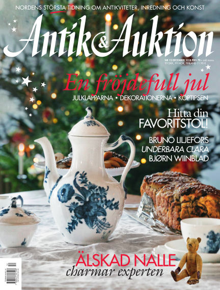 Antik & Auktion November 15, 2018 00:00