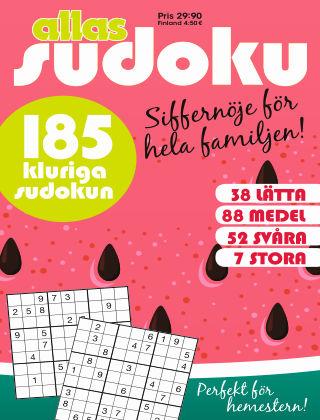 Allas Sudoku 2020-07-14
