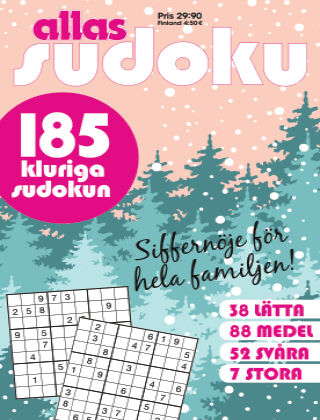 Allas Sudoku 2020-12-03