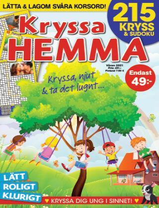 Kryssa Hemma 2021-03-18