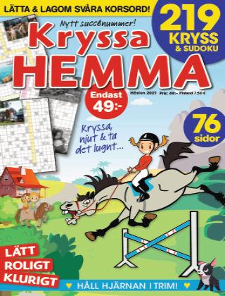 Kryssa Hemma 2021-09-02