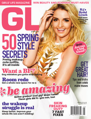 Girls' Life Magazine April / May 2015
