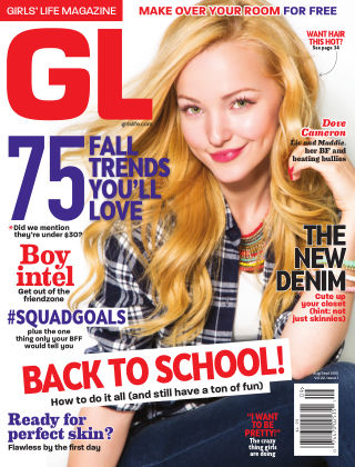 Girls' Life Magazine Aug/Sept 2015