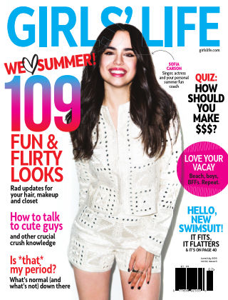 Girls' Life Magazine June/July 2016