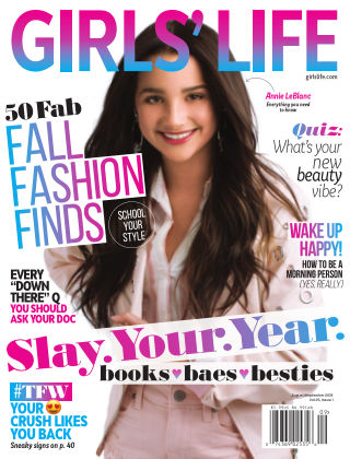 Girls' Life Magazine Aug/Sept 2018